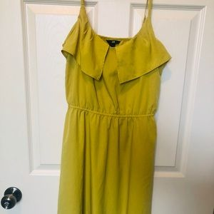 Burnt yellow H&M summer dress